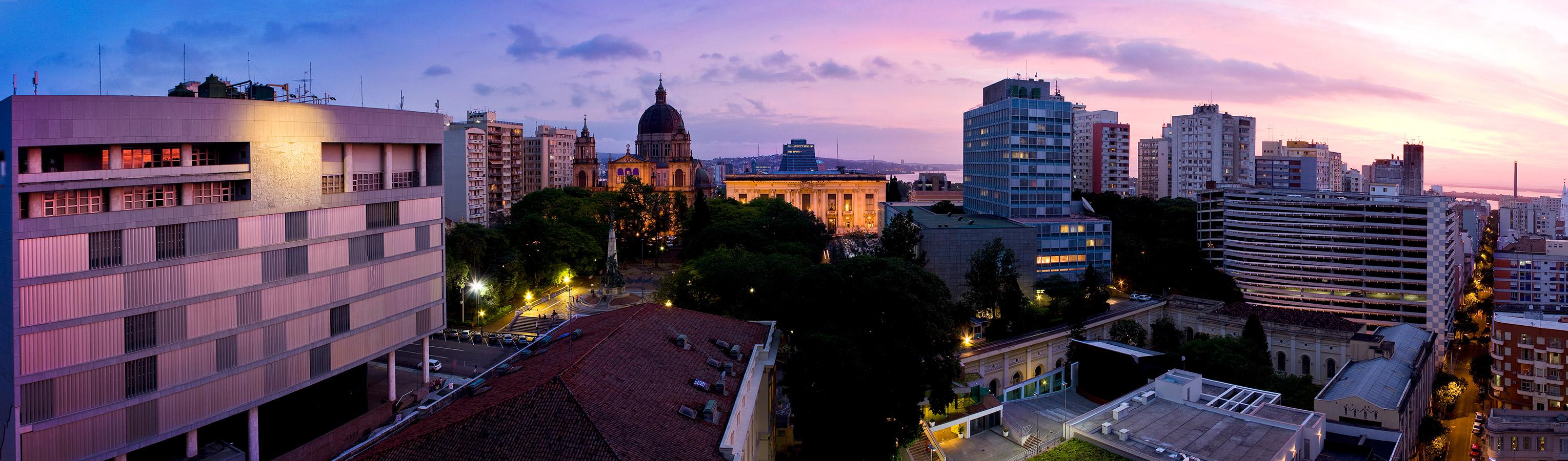 Centro de Porto Alegre - Panorâmica